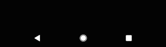 3ボタン ナビゲーションのボタン表示